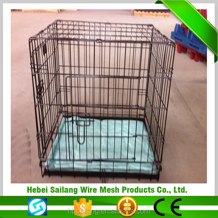 Manufacturer wholesale welded wire mesh metal car dog cage