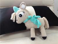 Handmade Crochet Stuffed Toys, crochet stuffed unicorn animal toys