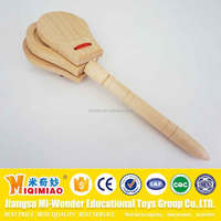 Children Hobbies Noise Maker Wooden Handle
