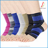 Custom factory Knitted elastic belt neoprene adjustable flexible ankle brace sleeve support