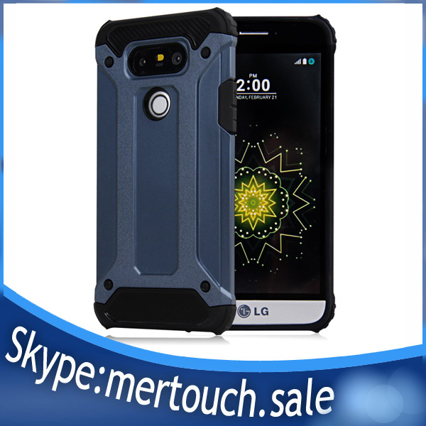 2017 Combo Rugged Armor Mobilephone phone Case for LG G5, Shockproof For LG G5 cover