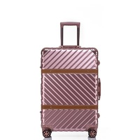 Luggaga Bag Cases Aluminium Frame Luggage