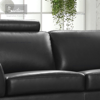 modern fashionable leather lounge suite 0815 for Japan design