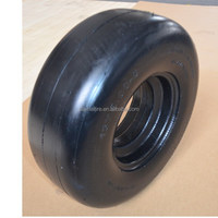 13 x5.00-6 caster rubber tire with smooth tread for zero turn radius commercial mowers