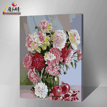 famous painting flower for the wall pictures modern artwork DIY painting by number
