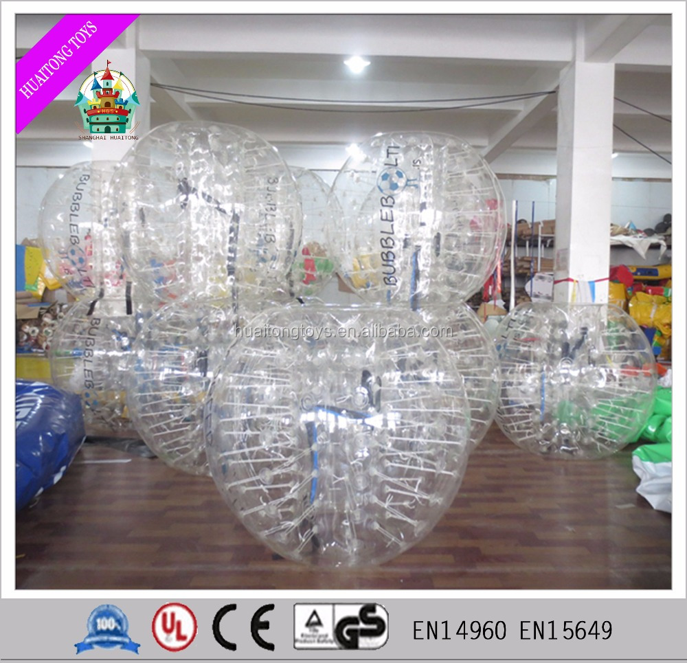 High quality inflatable buddy bumper ball for adults