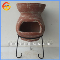 Hot Sale! Terracotta outdoor chiminea for Garden Decoration