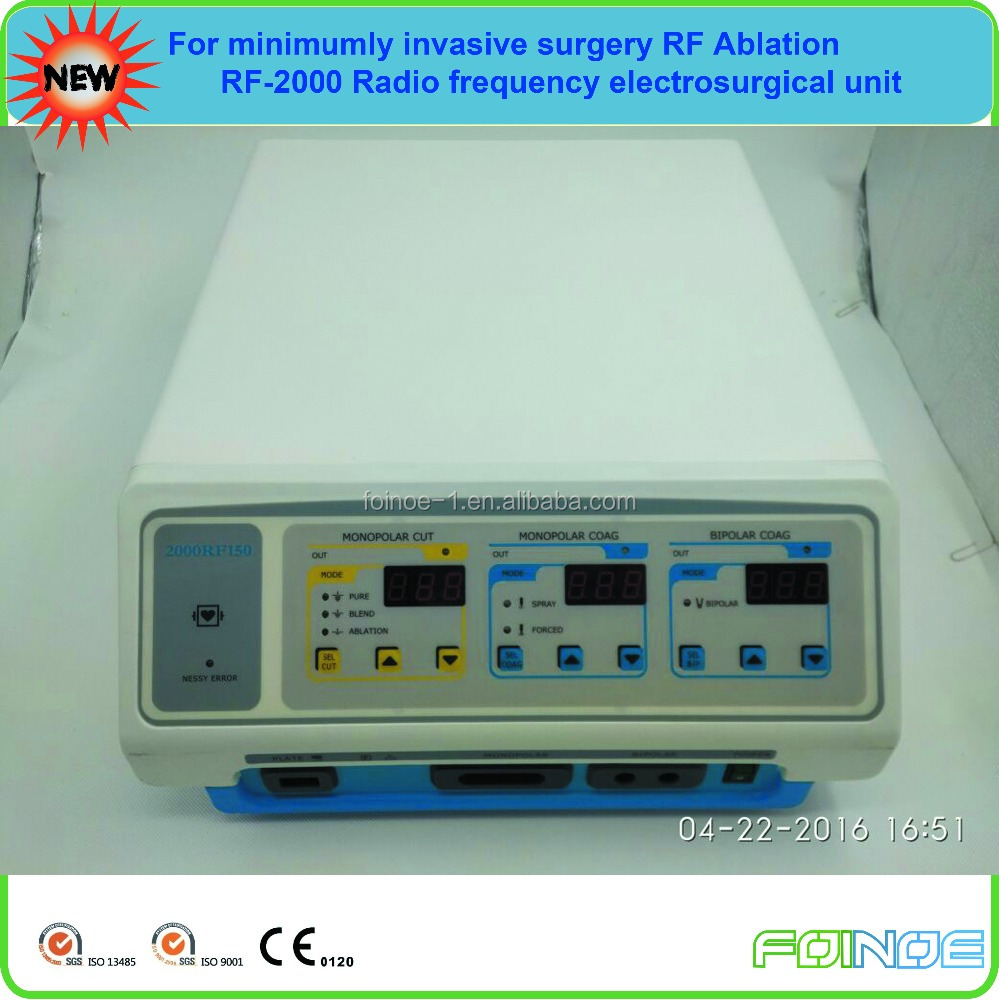 Medical RF-2000 cheap Radio frequency electrosurgical generator