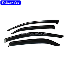 SUV Accessories High quality For Fortuner 2012-2014 Door Visor Black Sun visor window visor For Fortuner auto parts