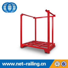 Galvanized movable industrial stacking warehouse steel <strong>rack</strong>