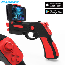 Augmented Virtual Reality Shooting Technology Bluetooth 3D Ar Vr Magic Game Player Plastic Toy Shot Gun For Android And Ios