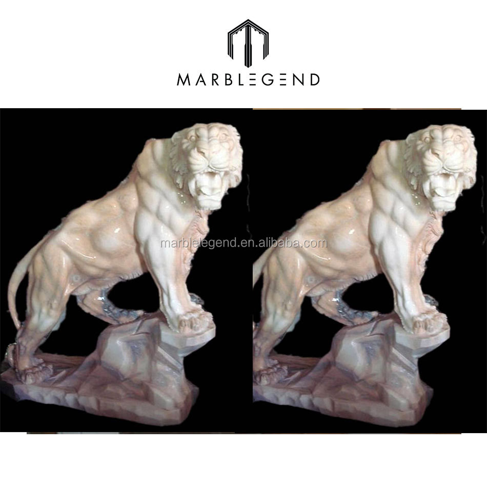 Hand carved life size tiger animal statues of high-end quality