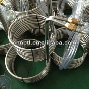 304 Stainless steel condensing coiled tube
