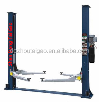 8000lbs hydraulic 2 post car lift for car washing from China supplier