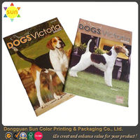 custom printing magazine/offset printing magazine/magazine printing book printing