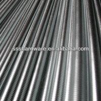 thread rod, DIN 975, carbon steel, zinc plated
