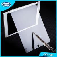 Made in china anti - broken superhard h9 tempered glass film screen protector for ipad 5