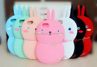 New Bunny silicone case skin cover for iphone 6, rabbit cover for iphone 6