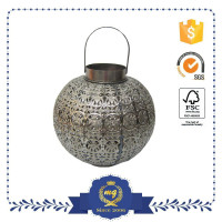 diwali antique metal lantern candle holders