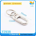 hot selling small metal alloy key hook for bag accessories