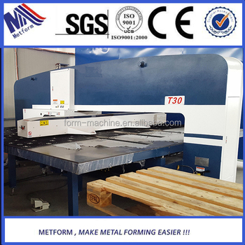 Solar Vacuum Tube Holes Punching Machine,Turret CNC Punching Machine with price