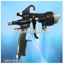 high pressure hvlp dual head nozzle spray gun for chrome spray