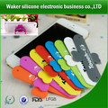 Eco-friendly Practical custom silicone multiple Slap Mobile Phone Holder /mobile phone charging holder