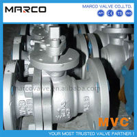 Hot sellig bare shaft or ISO 5211 top flange standard high direct pad panel mount ball valve