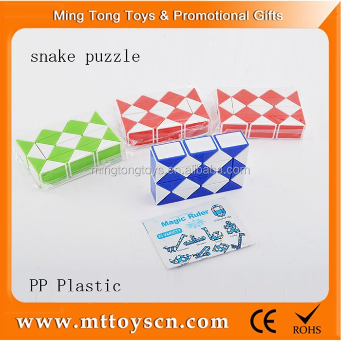 hot sale OEM toy 24 part magic snake