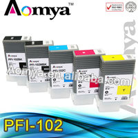 Compatible ink Cartridge PFI 102 For canon ink cartridge PFI101 PFI103 PFI102 PFI105