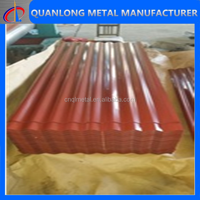 Color/Galvanized Corrugated Roofing Metal Sheets/Corrugated Tile