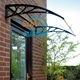 polycarbonate door canopy manufacturer rain protection for window awnings parts