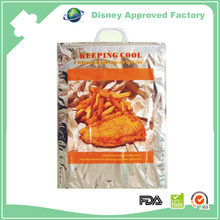 Top Quality Extra large hot Pizza food Delivery packaging Keep Food Warm Bags