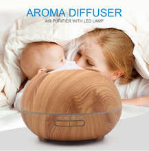 Hot Selling Professional Ultrasonic Humidifier Diffuser Essential Oil