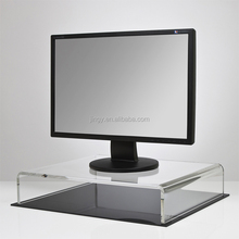 acrylic monitor display stand for desks