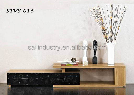 Hot sale wood panel tv stand classic design