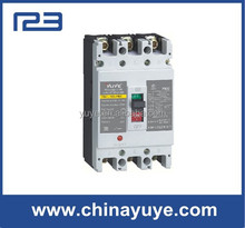 China yuye YEM moulded case circuit breaker rccb earth leakage