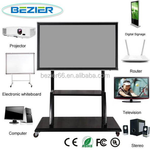 65 Inch Optional IR touch interactive whiteboard with PC