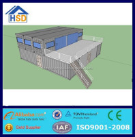 CE certificate china prefab shipping container movable houses for sale