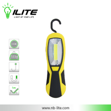 Top 3 LED and side COB Work Light with Hook and Magnet