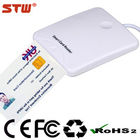 High quality newest design magnetic card reader writer mini compatible with SIM/ID/Smart/EMV card