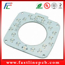 High quality Mirror Face Aluminum COB LED PCB