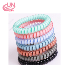 Elastic Telephone Wire Cord Head Ties Hair Band Rope