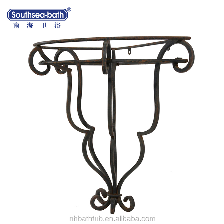 Rope Design Artificial Iron Stand For