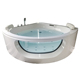2 Person Acrylic corner spa Massage Whirlpool Hot bath Tub Air Jetted Spa Corner Bathtub With Jets