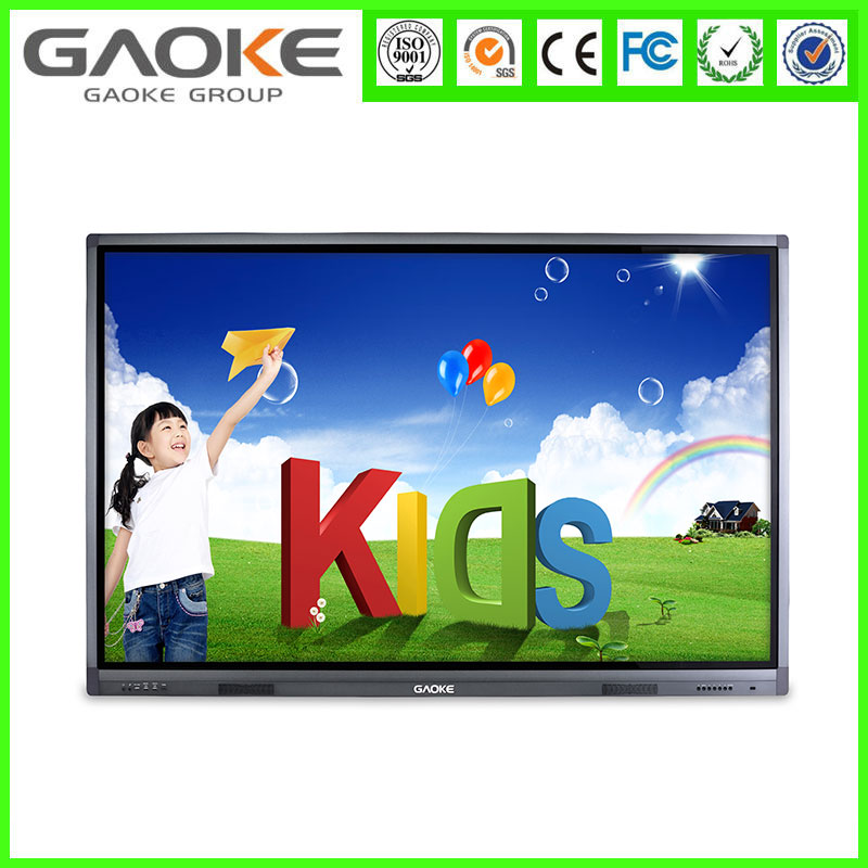 Gaoke LED Multi touch IR LED touch screen monitor with VGA input and OPS PC