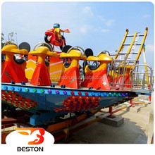 Low cost chinese amusement equipment disco coaster park flying rides