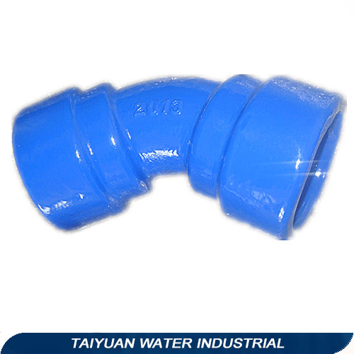 TAWIL Double socket/flange tees 45 degree