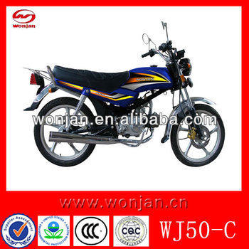 50cc used motorcycles sale /street legal motorcycle(WJ50-C)