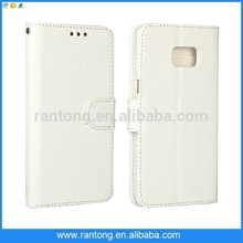 wholesale 2014 new design wallet leather case for galaxy s6
